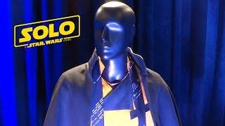 """Solo: A Star Wars Story"" costumes display at press junket"