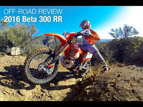 2016 Beta 300 RR Two-Stroke Review - MotoUSA