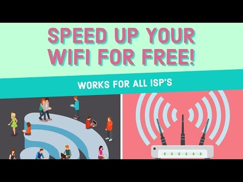 Speed Up Your Wi-Fi FOR FREE!! (Tested on Optimum Online)