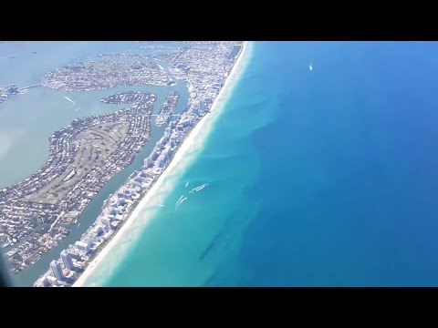 Taking off from Miami Airport