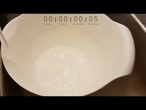 How Long Does it Take to Fill a Bowl?