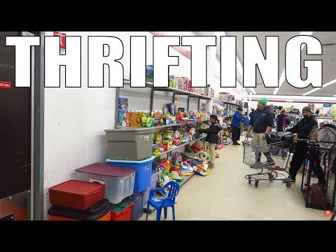 Thrifting Ride Along for Ebay and Amazon | Haul Video
