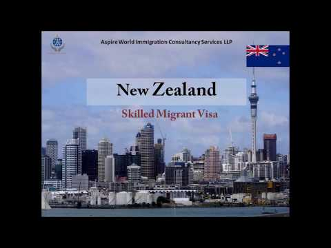 New Zealand Skilled Migrant Visa | Aspire World Immigration Consultancy Services LLP