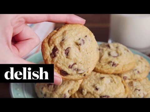 Perfect Chocolate Chip Cookies | Delish
