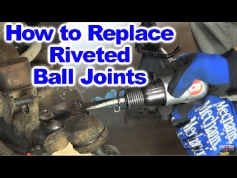 How to Replace Upper and Lower Ball Joints on Dodge Dakota 2wd