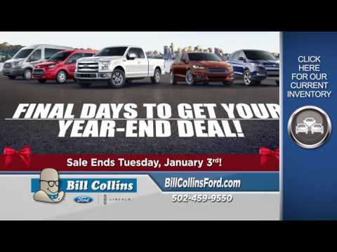 Bill Collins Ford Year End Sales Event