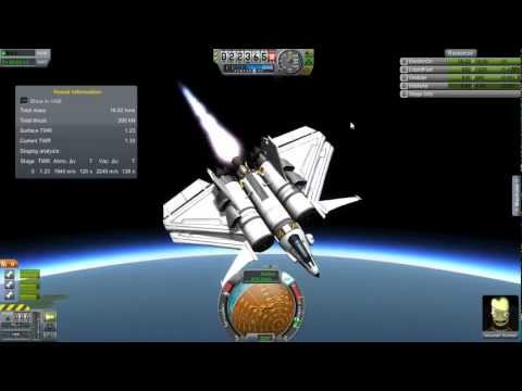 Kerbal Space Program - How to build an SSTO Space Plane