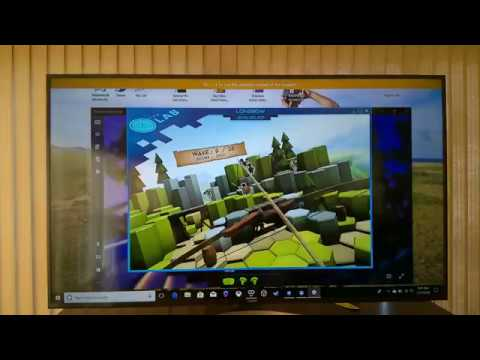 The Lab Longbow Streaming  on Samsung Tv Mixed Reality(Acer Nitro)