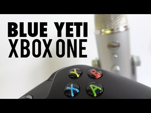 How to use a Blue Yeti Mic on an Xbox One (Tutorial)