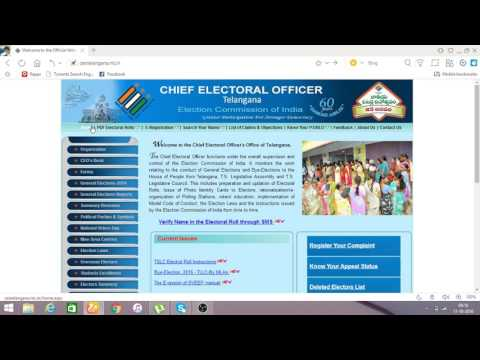 how to apply voter id card online in telangana with in 5min and track status