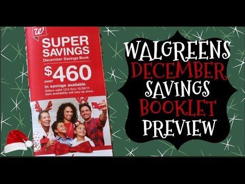 Walgreens December Savings Booklet Preview
