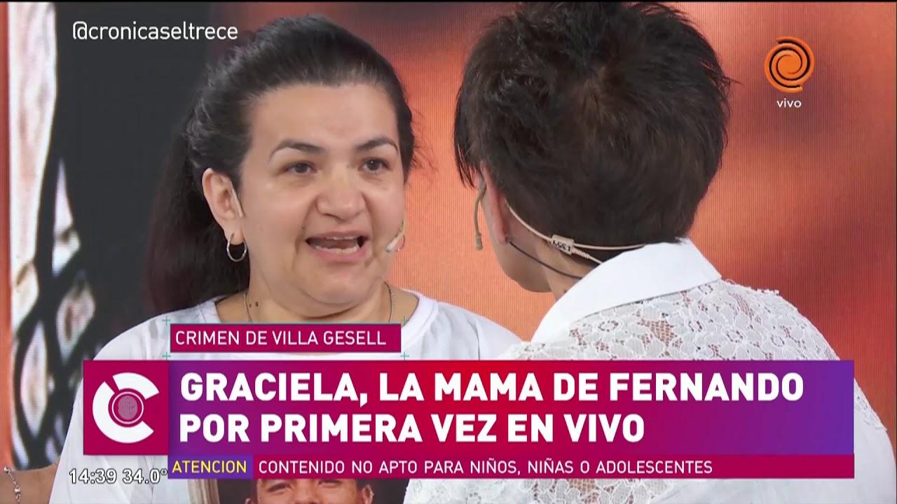 Desgarrador testimonio de la mamá de Fernando Baez Sosa