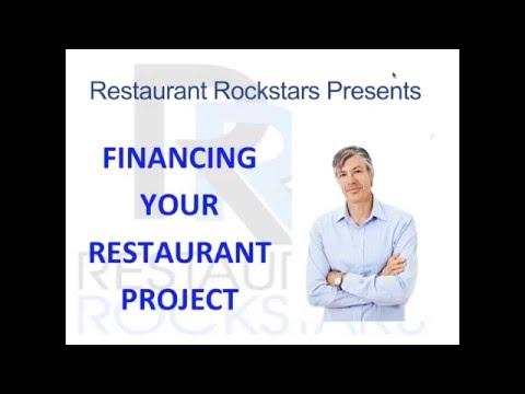 Financing Your Restaurant Project