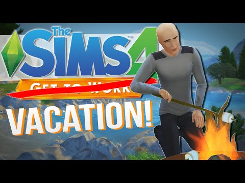 The Sims 4   LET'S GO CAMPING!!   Get To Work / Outdoor Retreat #11