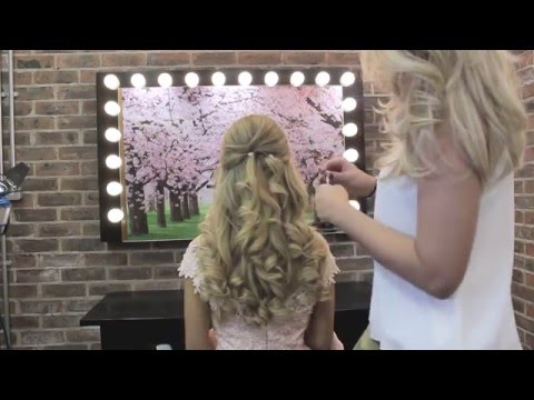 Bridal Hair Ireland - Using Clip in Hair Extensions