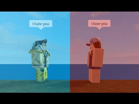 I hate you, I love you | Roblox Music Video