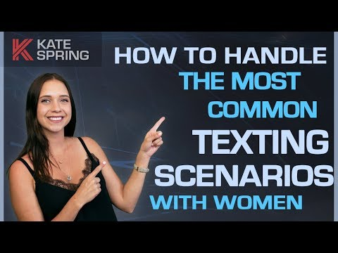 How to Handle The Most Common Texting Scenarios With Women