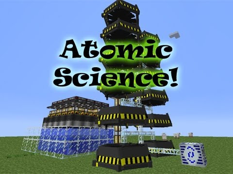 Minecraft - Atomic Science Fission Reactor Tutorial/Demonstration - Resonant Rise