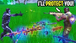 Download I dropped ALL my Loot to Random Players to see their Reactions! Video