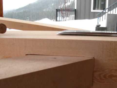 How to build a Timber Frame Sauna