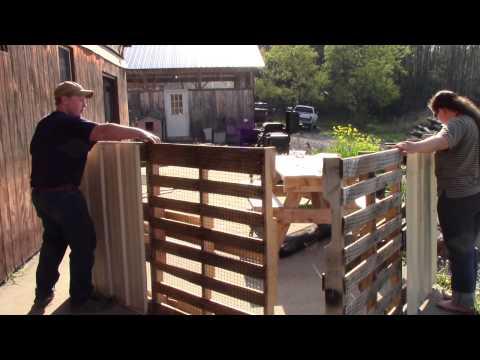 Making Chicken Tractors