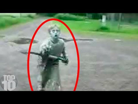 10 CREEPIEST Creatures Caught On Camera