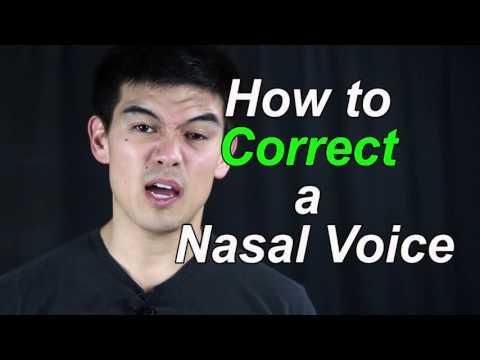 Nasal Voice Correction Tutorial for Asians