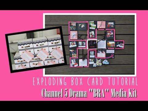 EXPLODING BOX FULL TUTORIAL - Channel 5 Drama BRA Media Kit