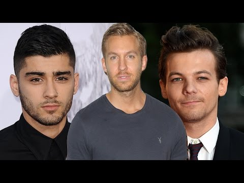 Louis Tomlinson Disses Zayn Malik by Supporting Calvin Harris