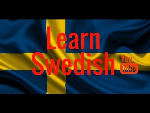 Learning Swedish - Alphabet