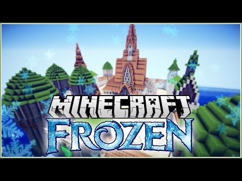 Arrendale Castle from Frozen Minecraft Timelapse!