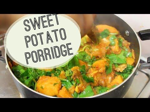 How to make sweet potato porridge