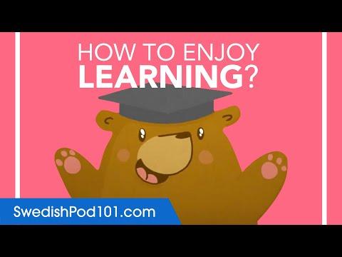 How to Enjoy Learning Swedish