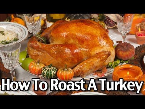 How to Roast a Turkey And Make Homemade Turkey Gravy