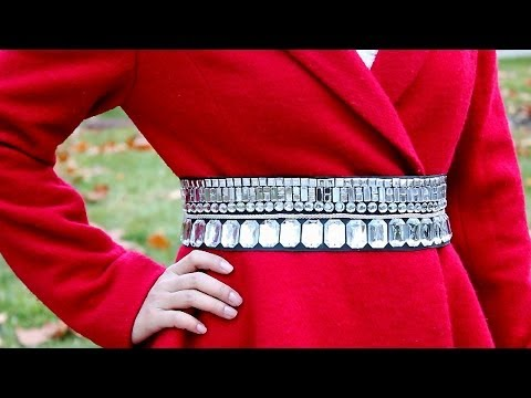 DIY : Crystal Belt