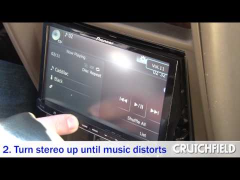 How to Set Your Car Amp's Gain for the Best Sound | Crutchfield Video