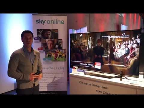 LG Innovation Tour 2015: Die Sky-App für Smart TVs