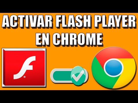 Activar Flash Player en Chrome