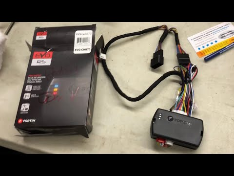 Fortin add on Remote Start Jeep Patriot install from Lessco