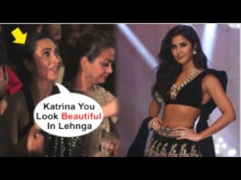 Xxx Mp4 Karisma Kapoor CHEERING For Katrina Kaif While Walking RAMP At Lakme Fashion Week 2019 3gp Sex
