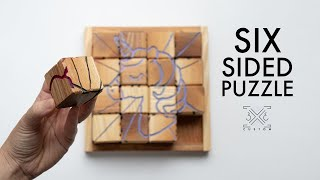 DIY Puzzles // Easy Handmade Holiday Gifts // Six Sided Puzzle // Personalized Shape Puzzle