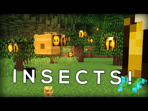 Bees and Insects in Minecraft!