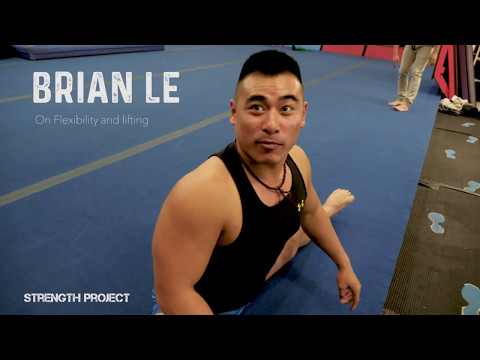 TRICKING MONSTERS- Brian Le on flexibility, splits, weight lifting kicks tutorial and session