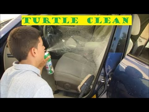 Lexus is300 seats & carpet cleaning with Turtle wax