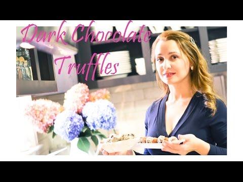 How to Make Dark Chocolate Truffles