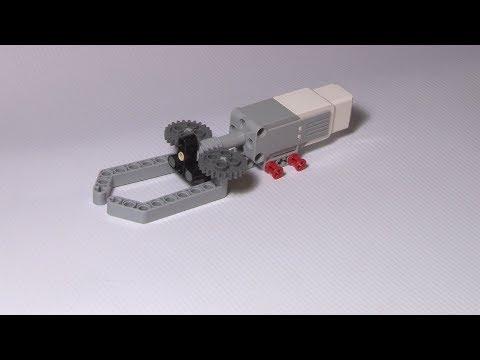 Lego Mindstorms EV3 Simple Gripper Using Medium Servo Motor - Building Instruction