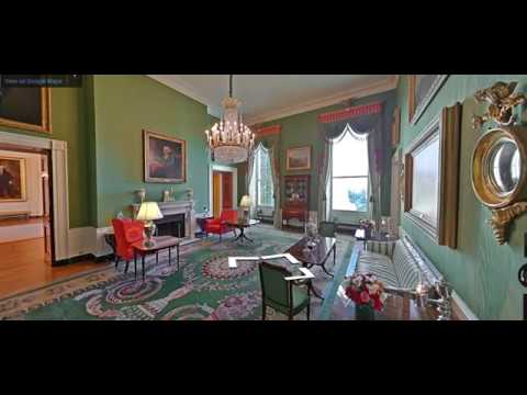 Tour of the White House with Google Earth.