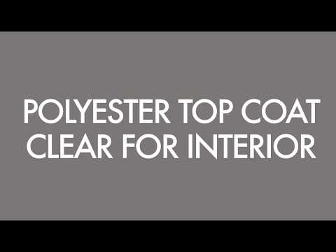 Woodver Polyester Finish | Application Process | Polyester Top Coat Clear