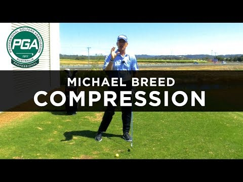 COMPRESS THE GOLF BALL | Michael Breed | PGA TV