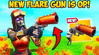 *NEW* FLARE GUN IS AMAZING!! - Fortnite Funny Fails and WTF Moments! #960